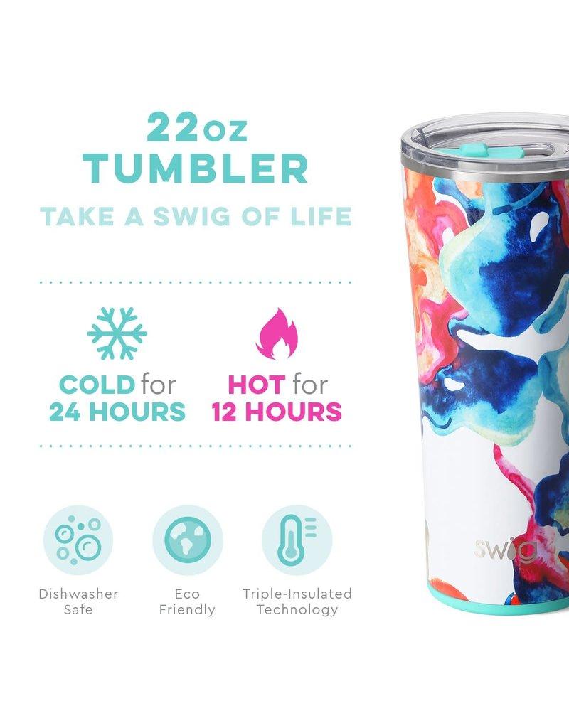 Swig Life Color Swirl Tumbler 22oz