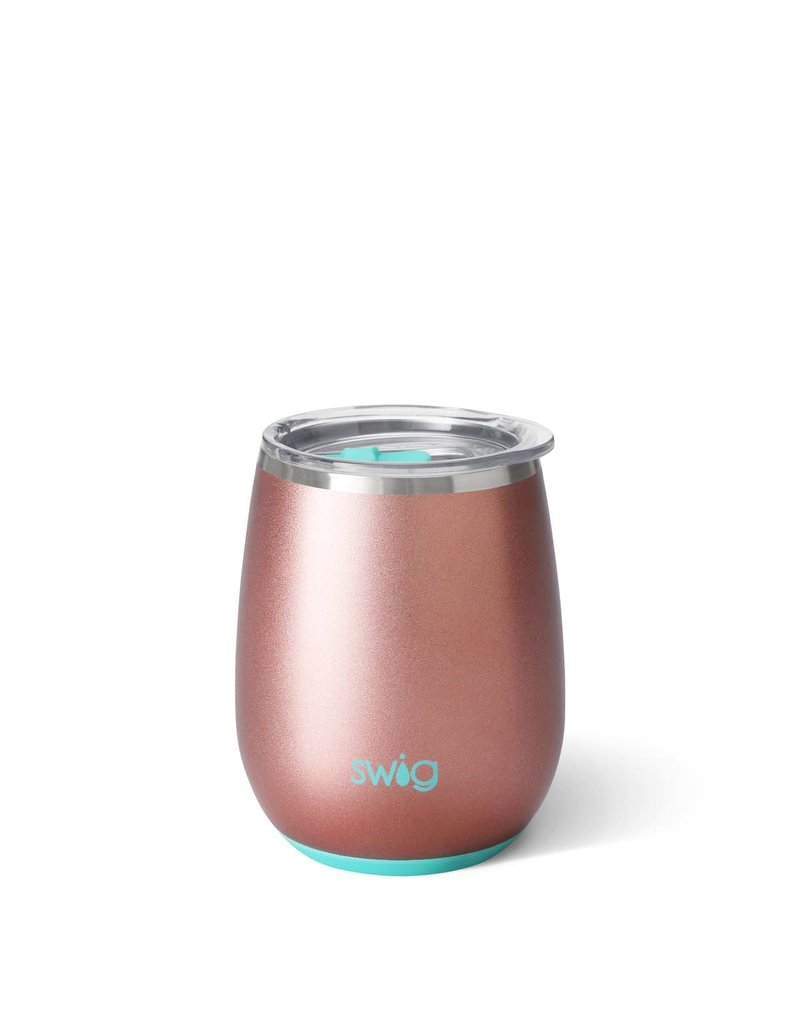 Swig Life Rose Gold Stemless Wine Cup 14oz