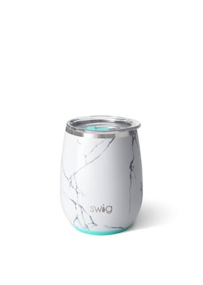 Swig Life Marble Slab Stemless Wine Cup 14oz