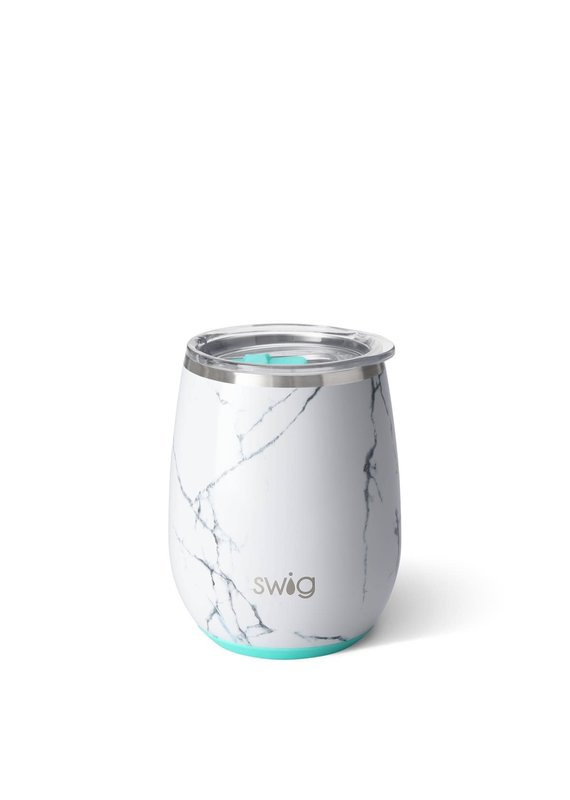 Swig Life Marble Slab Stemless Wine Cup 14oz