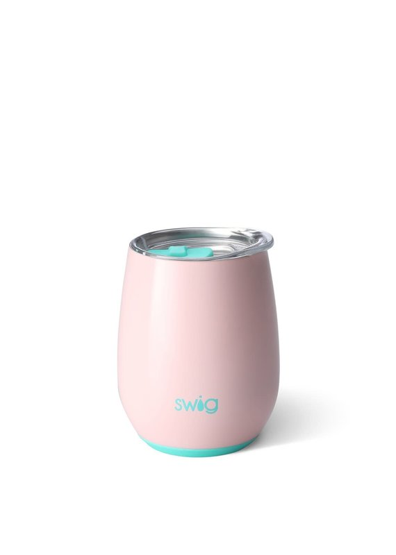 Swig Life Blush Stemless Wine Cup 14oz