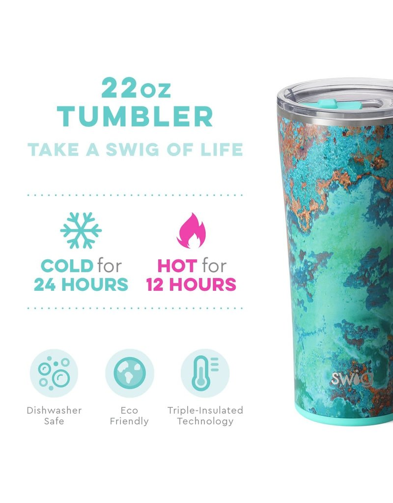 Swig Life Copper Patina Tumbler 22oz