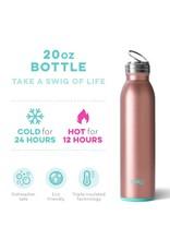 Swig Life Rose Gold Bottle 20oz