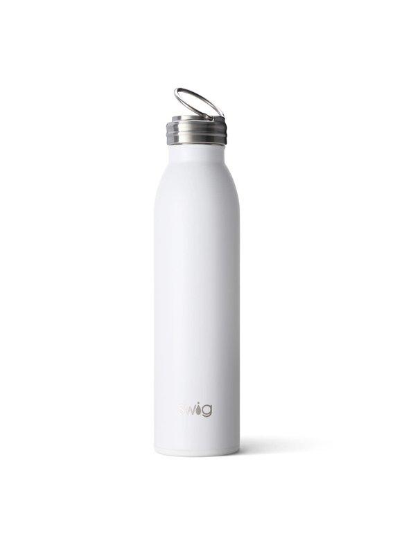 Swig Life Matte White Bottle 20oz