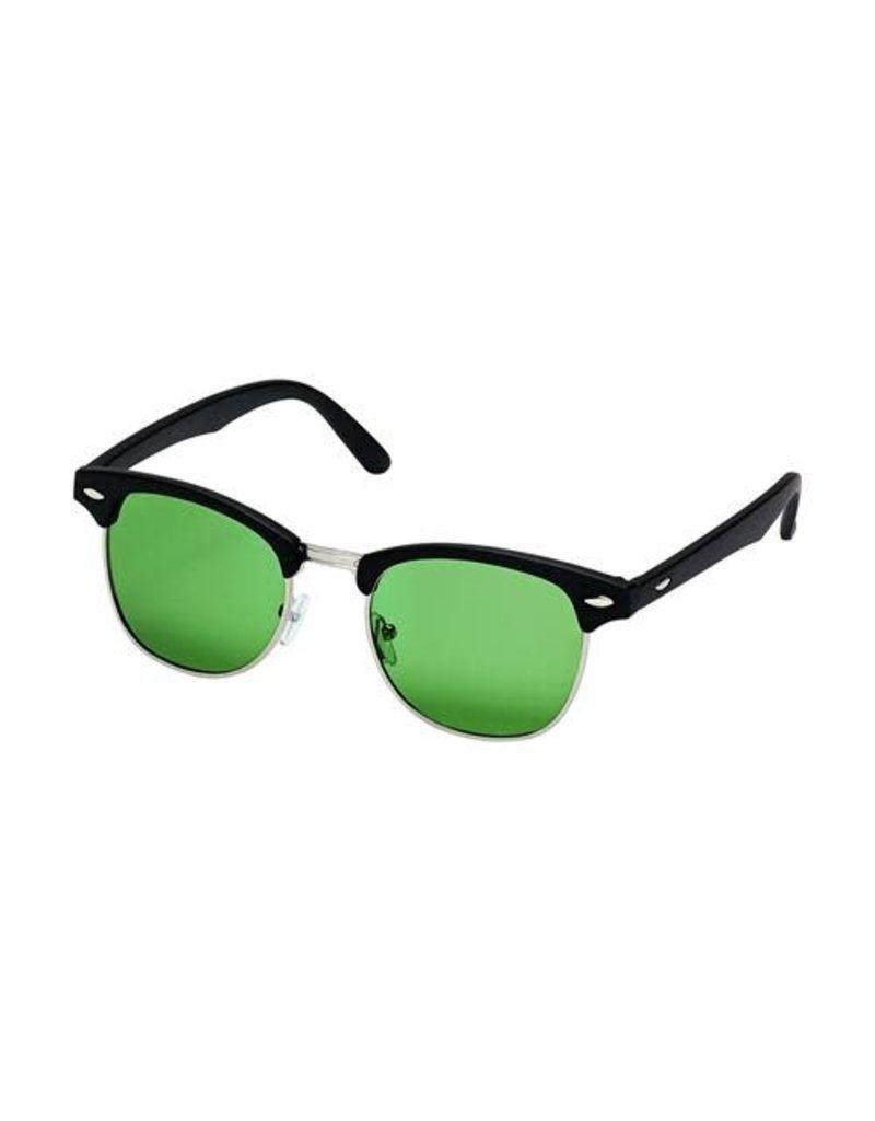 Blue Gem Black w Grey-Green Polarized Lens