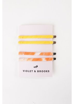 Violet & Brooks Rainbow Bobbie Set Daisy