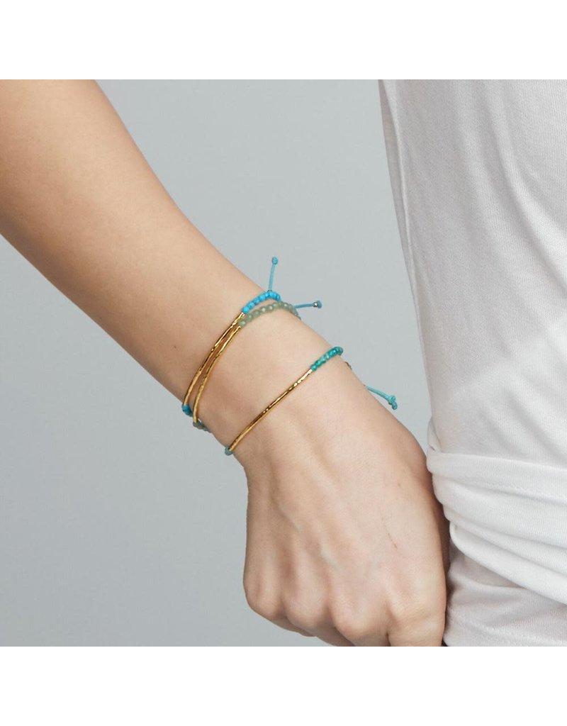 gorjana Power Russian Amazonite Gemstone Communication Bracelet