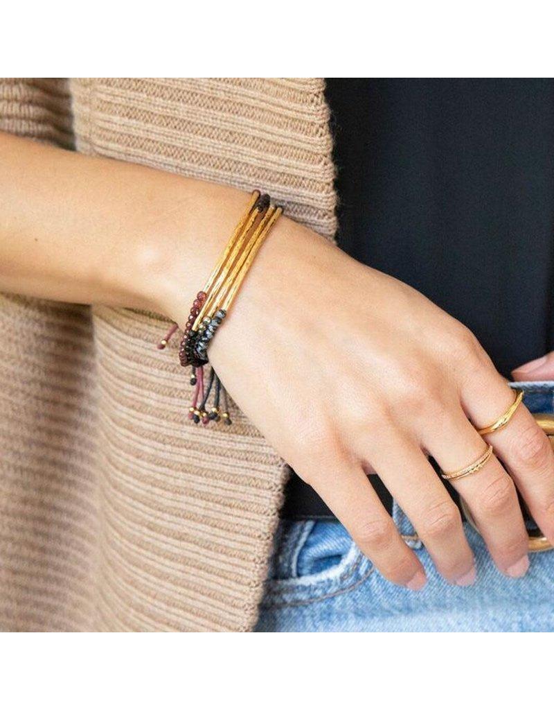 gorjana Power Black Onyx Gemstone Protection Bracelet