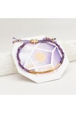 gorjana Power Amethyst Gemstone Tranquility Bracelet