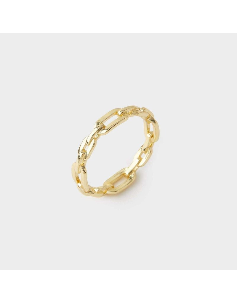 gorjana Parker Link Ring SZ 6