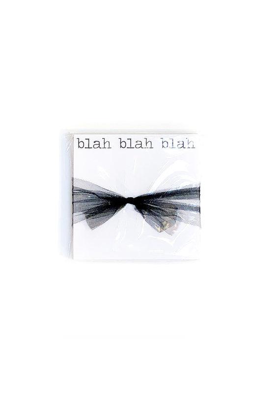 Poetic Wax Blah Blah Blah Note Pad
