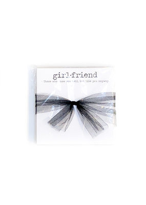 Poetic Wax Girlfriend Note Pad
