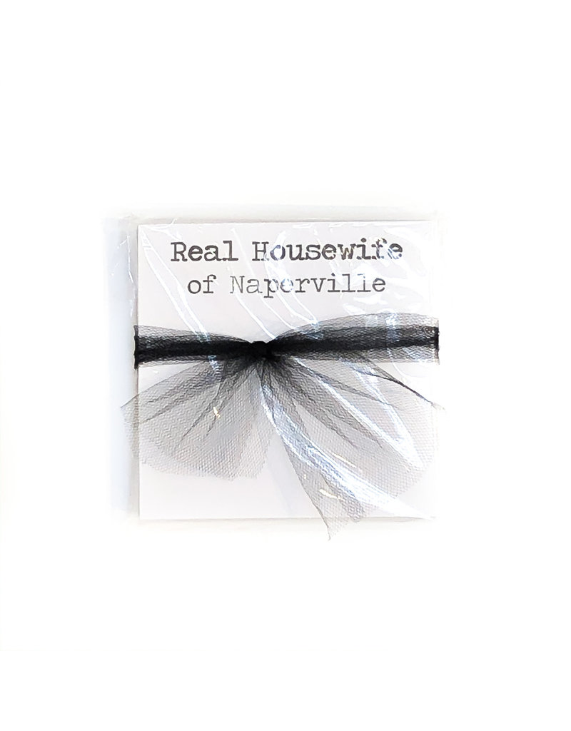 Poetic Wax Real Housewife of Naperville Note Pad