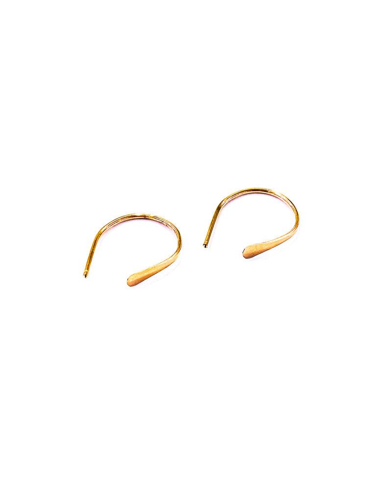 Linda Trent Rose Gold Filled Tiny Petite Threaders