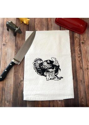 Green Bee Tea Towels Turkey Tea Towel
