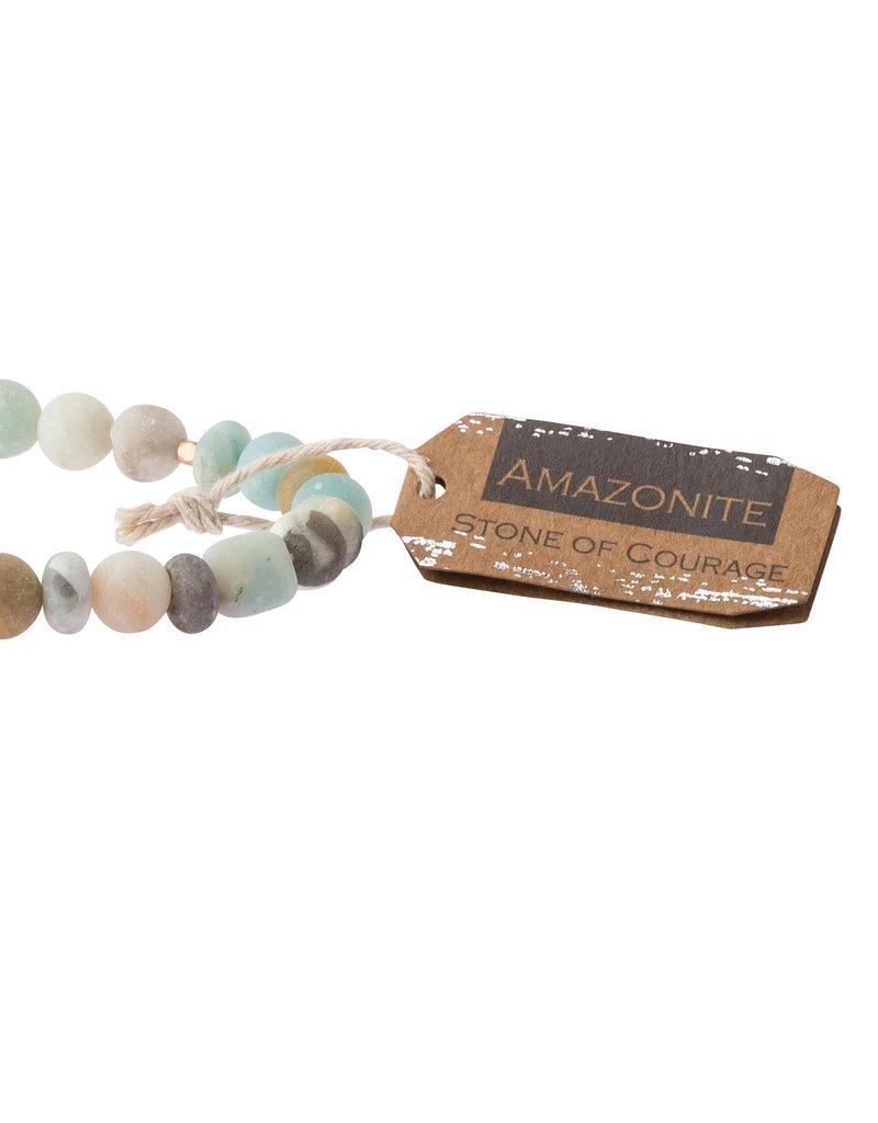Scout Amazonite Stone Bracelet