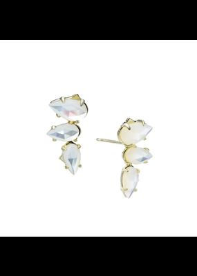 Natalie Wood Designs Daydreamer Stud White Pearl