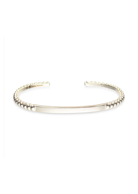 Natalie Wood Designs Beaded Stacking Cuff 14k Gold Plated