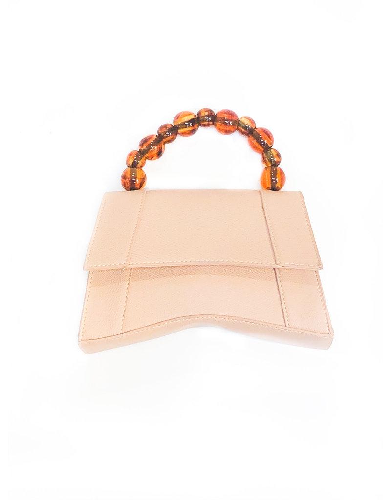 Street Level Handbags Tan Top Handle Satchel