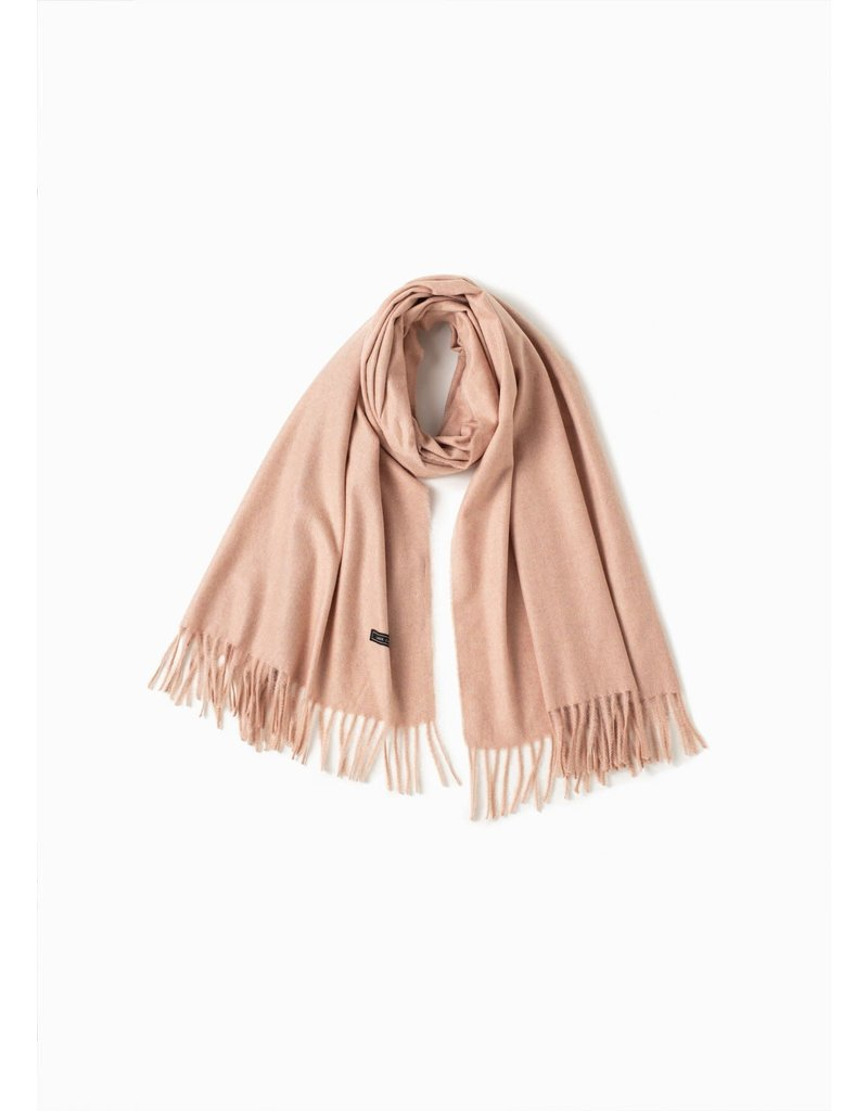Look By M Soft Noise Grain Blush Scarf