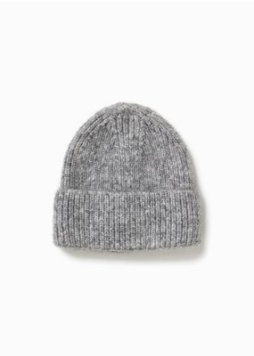 Look By M Cotton Candy Confetti Light Grey Beanie