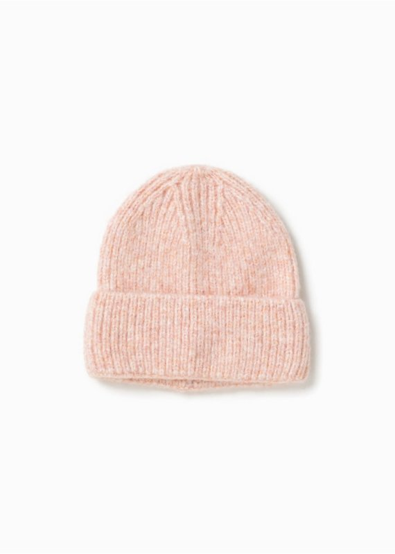 Look By M Cotton Candy Confetti Pink Beanie