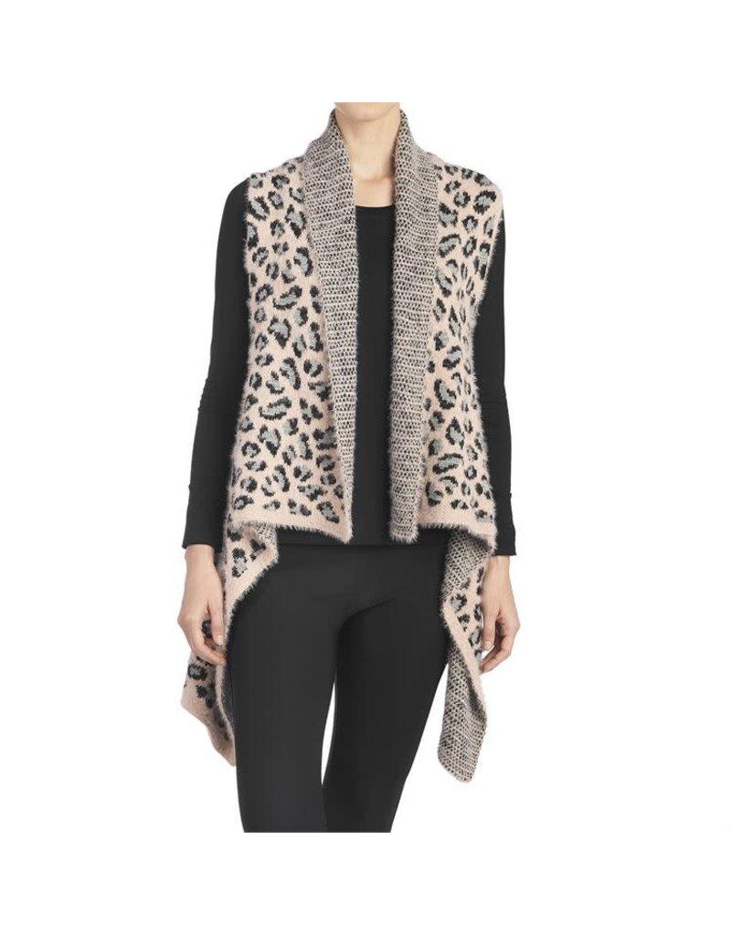 COCO + CARMEN Kamala Pink Leopard Vest