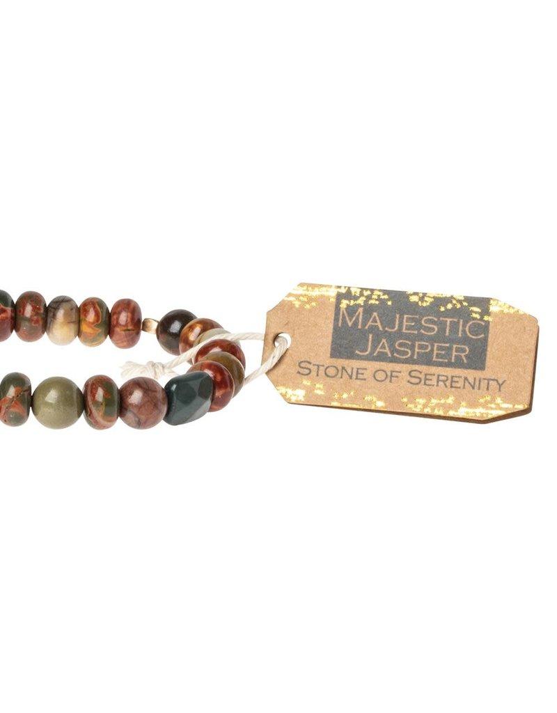 Scout Majestic Jasper Stone Bracelet