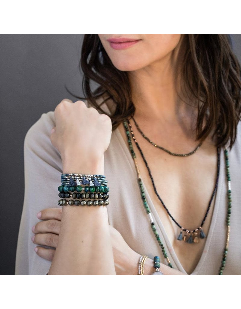 Scout Pyrite Stone Bracelet