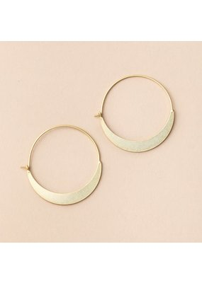 Scout Gold Crescent Hoop Earrings