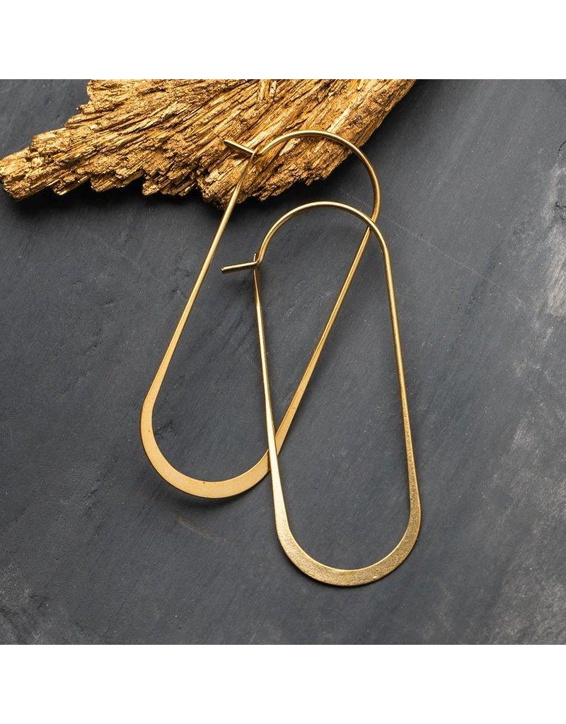 Scout Gold Cosmic Oval Earrings