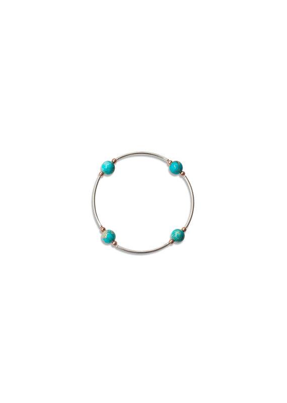 Made as Intended Blue Jasper Small Blessing Bracelet