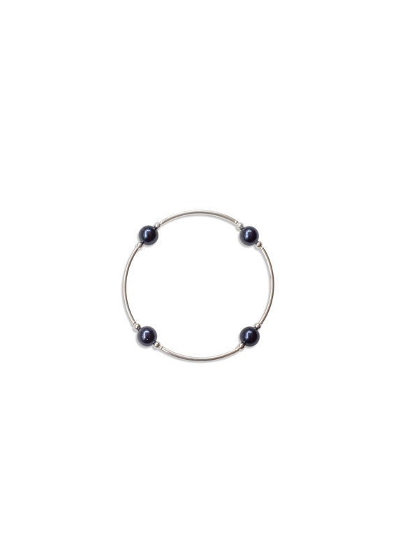 Made as Intended Midnight Pearl Small Blessing Bracelet