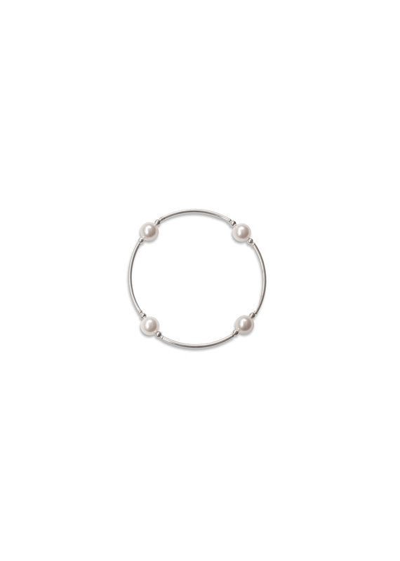 Made as Intended White Pearl Small Blessing Bracelet