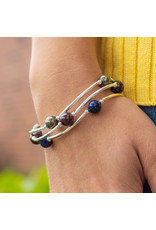 Made as Intended Lapis Small Blessing Bracelet