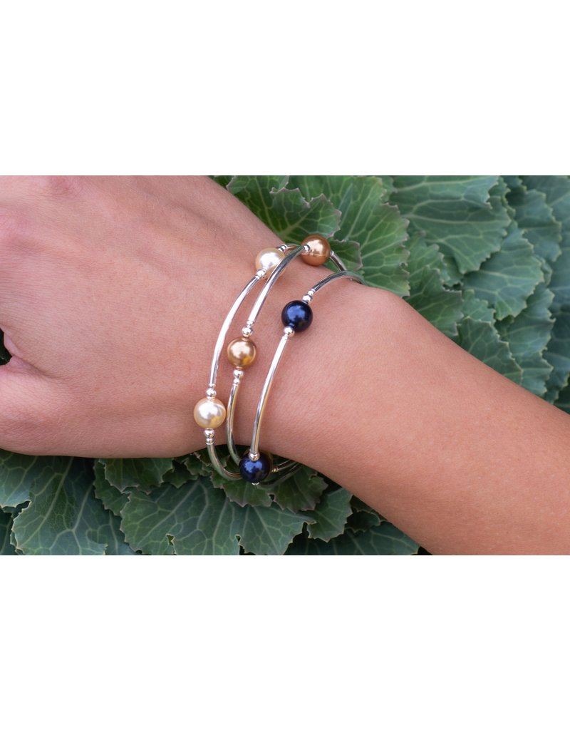 Made as Intended Gold Pearl Small Blessing Bracelet