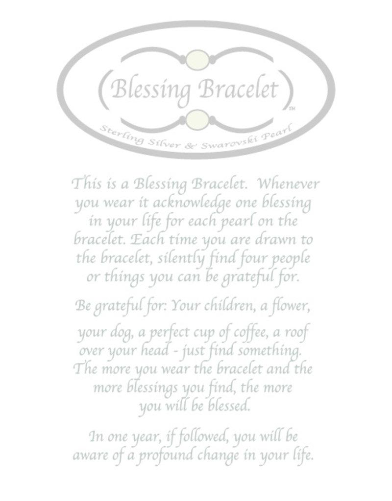Made as Intended Denim Large Blessing Bracelet