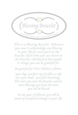 Made as Intended Gold Pearl Large Blessing Bracelet