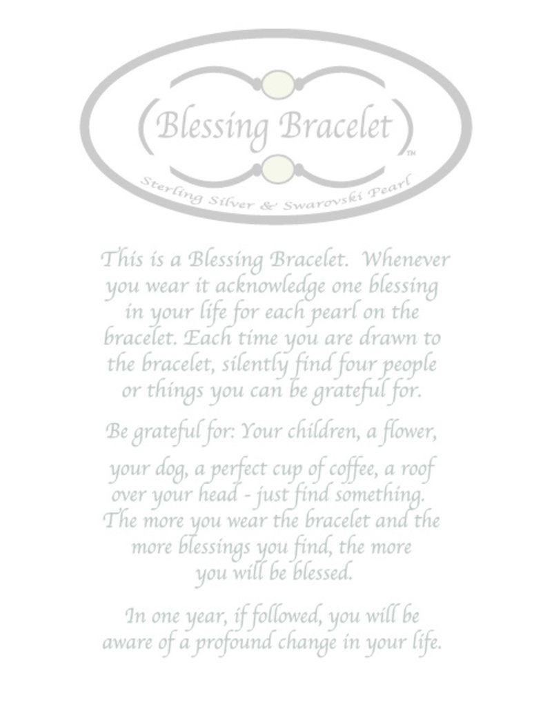 Made as Intended Bronze Pearl Large Blessing Bracelet