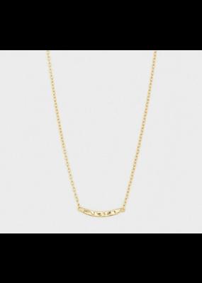 gorjana Taner Bar Mini Necklace