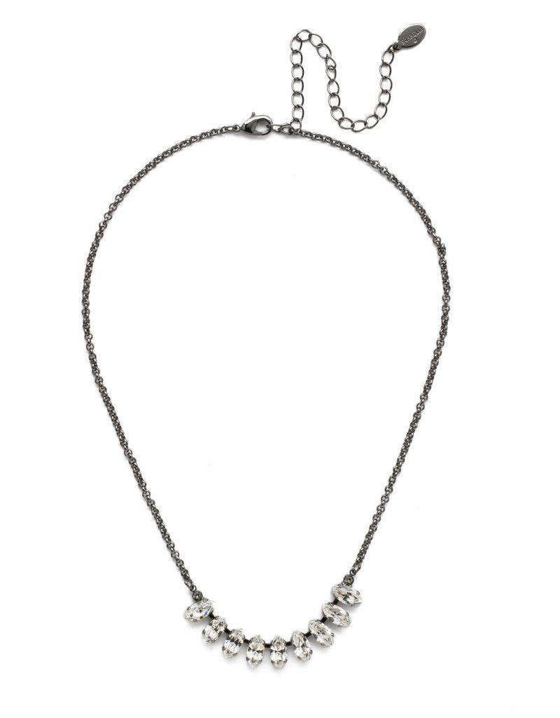 Sorrelli Clarissa Tennis Necklace Midnight Moon