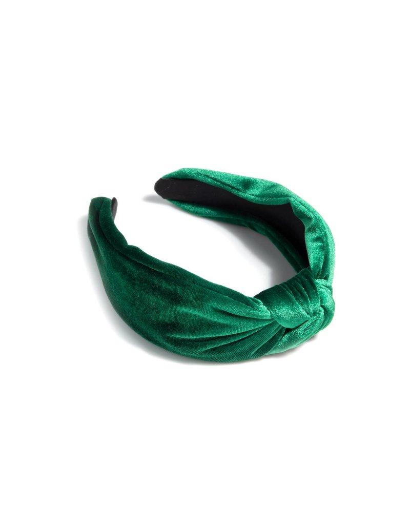 Shiraleah Chunky Knotted Headband Emerald