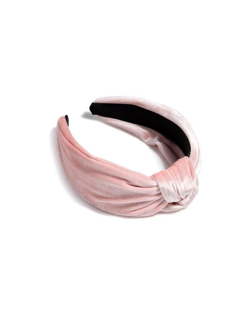 Shiraleah Chunky Knotted Headband Blush