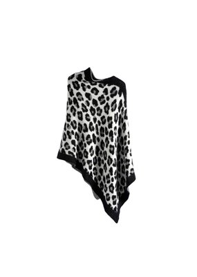 Shiraleah Frenchy Leopard Poncho