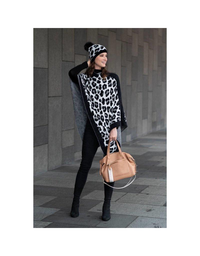 Shiraleah Frenchy Leopard Poncho