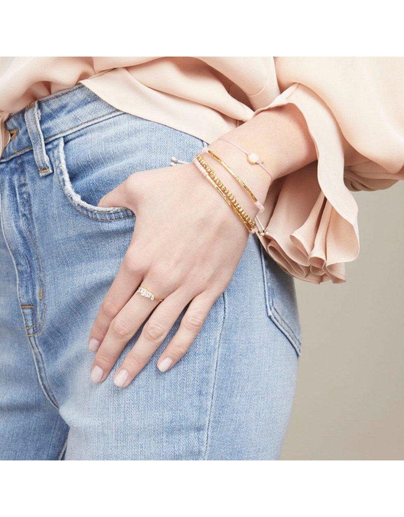 gorjana Power Rose Quartz Gemstone Compassion Bracelet
