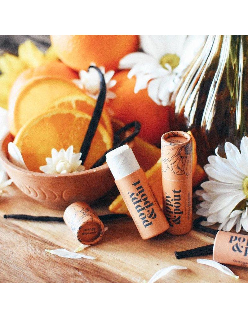 Poppy & Pout Orange Blossom Lip Balm
