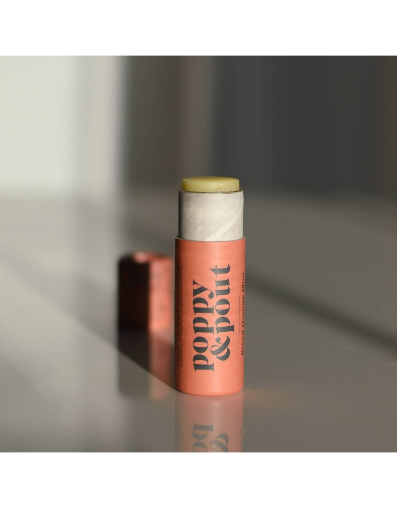Poppy & Pout Blood Orange Mint Lip Balm