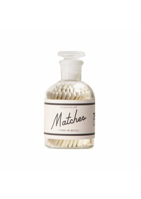 Paddywax White Bottle of Matches