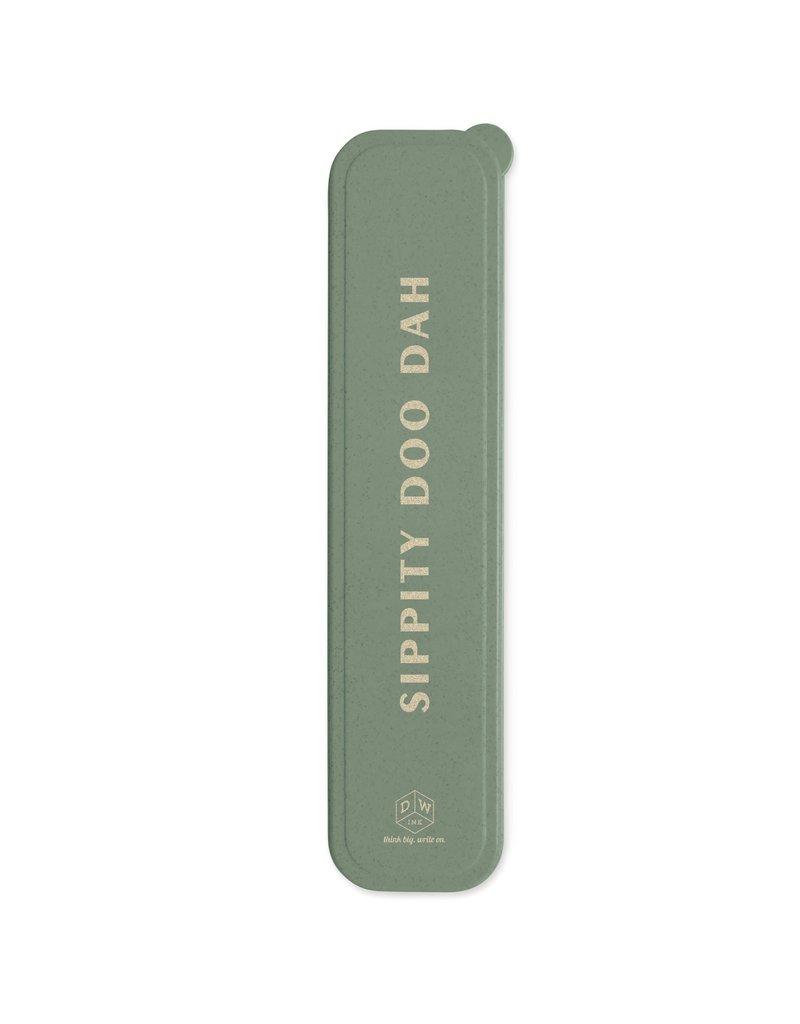 Design Works Ink Sippity Doo Dah Stainless Steel Staw Set